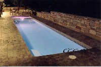 Marathon Fiberglass Pool and Spa