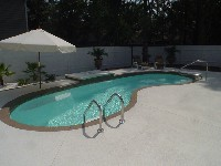 Seaside Fiberglass Pool